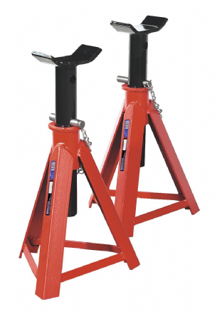Sealey AS7500 Axle Stands (Pair) 7.5 Tonne Capacity per Stand
